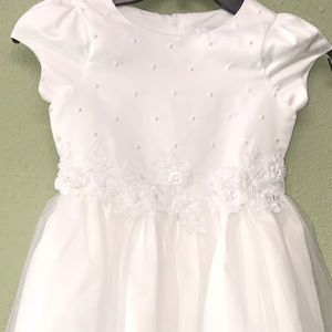 Us Angels Flower Girl First Communion Dress